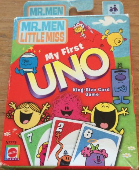 Mr. Men Little Miss My First Uno