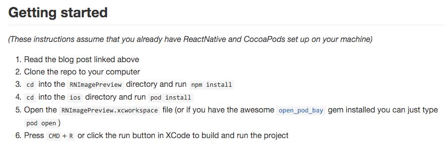 Using CocoaPods in NativeScript Versus React Native
