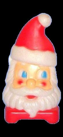 2-Sided Santa Lamp photo