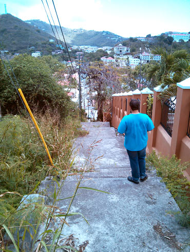 Looking into Charlotte Amalie