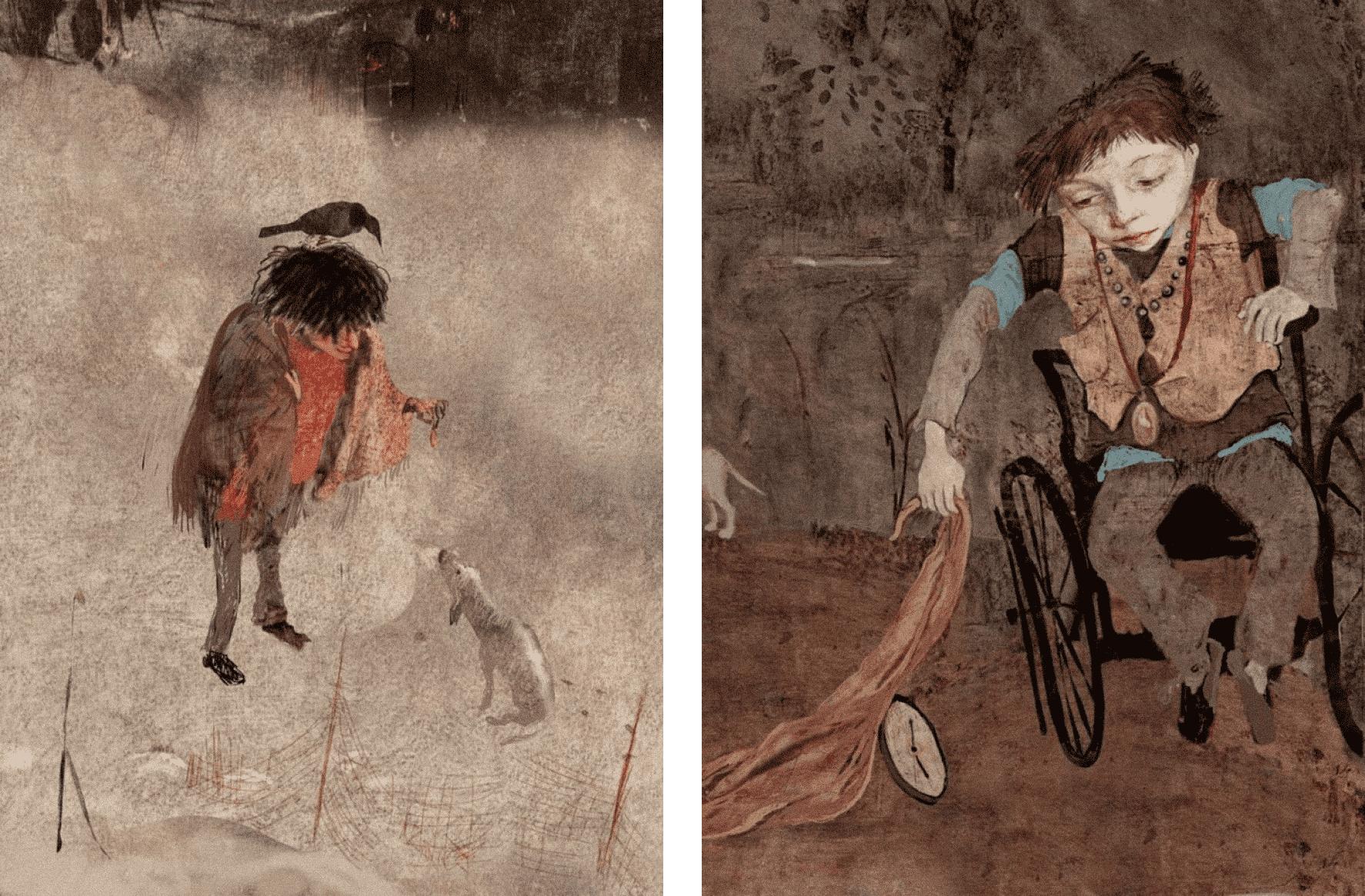 Иллюстрации Наиры Мурадян к книге Мариам Петросян «Дом, в котором…». Источник: narara.livejournal.com