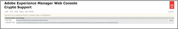 AEM's Crypto Support