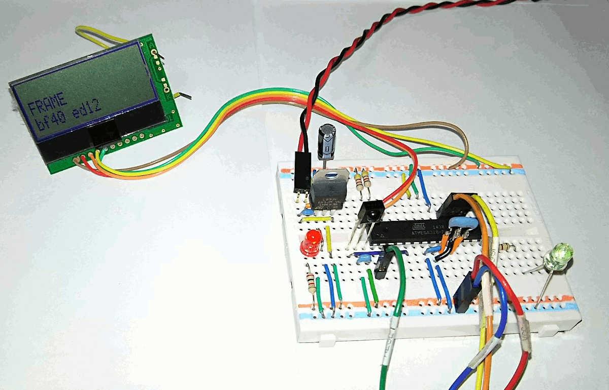 赤外線リモコン受信実験 cover image