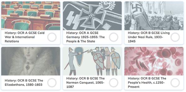 OCR History GCSE