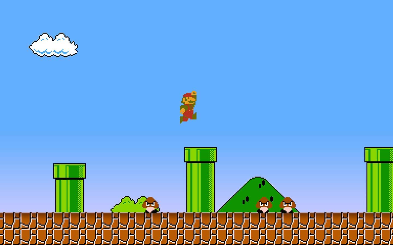 Level design Super Mario Bros
