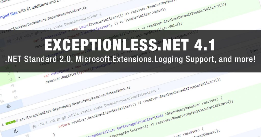 Exceptionless.NET 4.1 Release