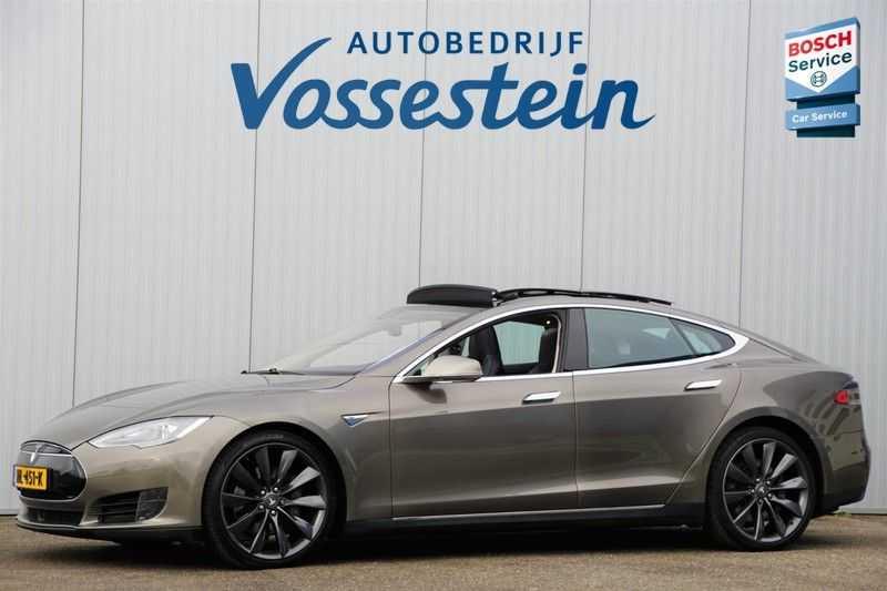 "Tesla Model S 90D Base / 422 PK / Panoramadak / Luchtvering / NL-Auto / 132dkm NAP / 21"" LMV / Leder afbeelding 1"