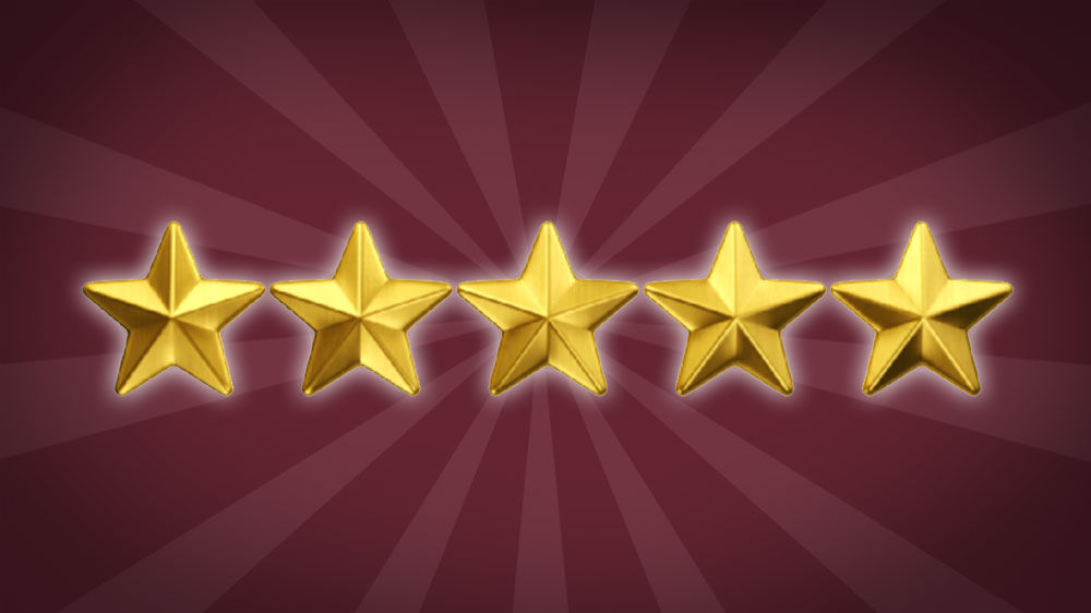 5 Star Reviews Graphic
