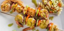 Citrus Glazed Shrimp Skewers
