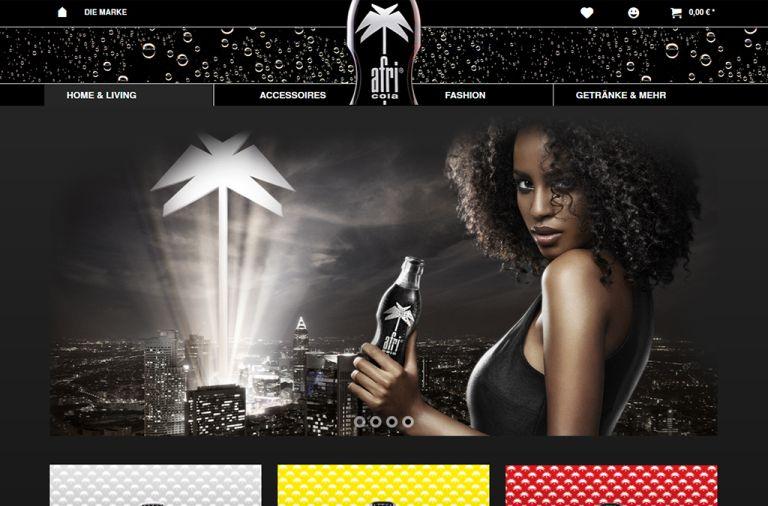 Shopware Shop Referenz: Afri-Cola