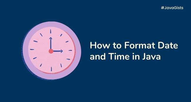 How to format Date and Time in Java