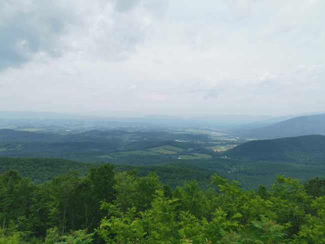 Paysage du ridge