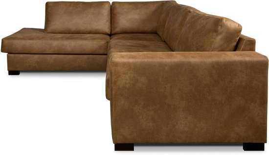 Isofa Dito Hoekbank Leer Cognac 9200000074103892_2 43 cm