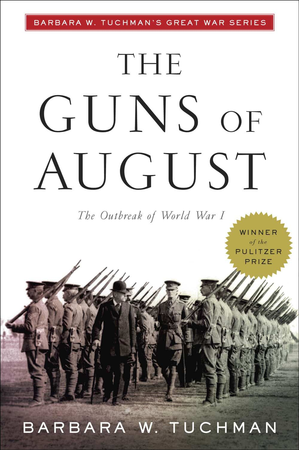 The cover of The Guns of August
