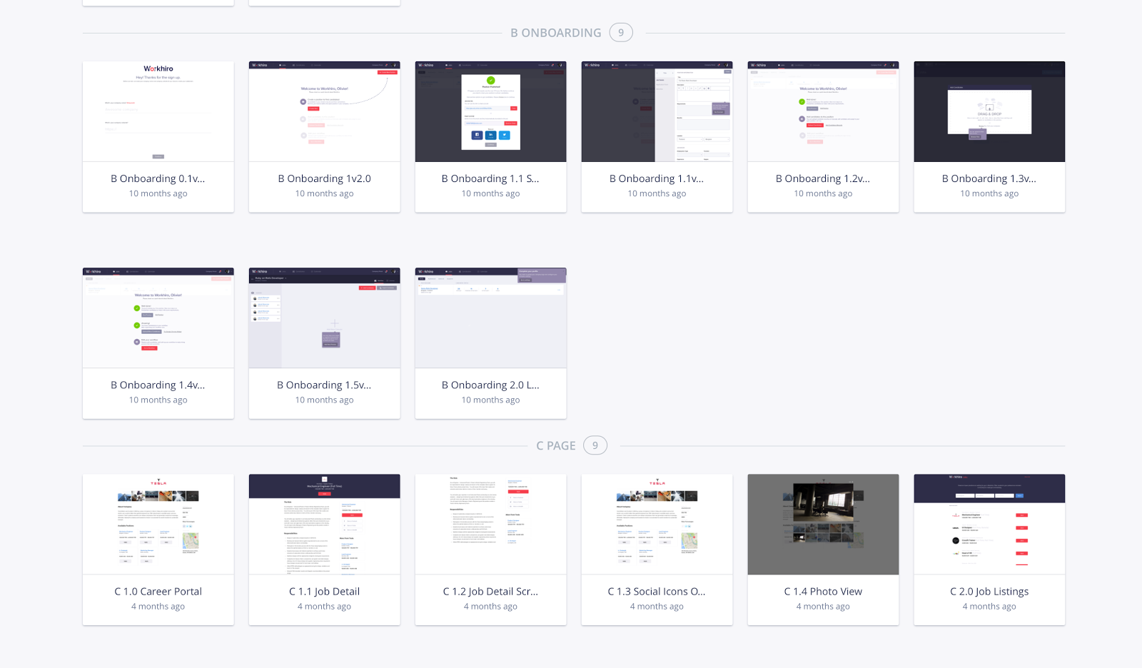 Invision Project Example