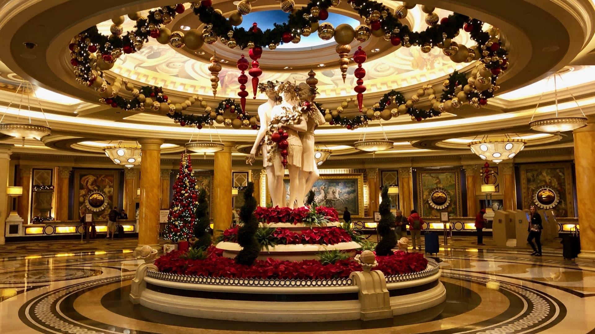 Caesar's Palace lobby