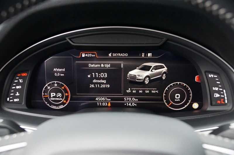 Audi Q7 3.0 TDI quattro Pro Line S S-Line / Head-Up / ACC / Side & Lane Assist / Sepang / 45dkm NAP! afbeelding 10