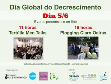 CCLAV: Dia Global do Decrescimento