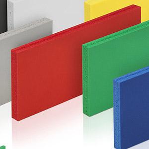 Anche il PVC può trovarsi in vari colori e dimensioni