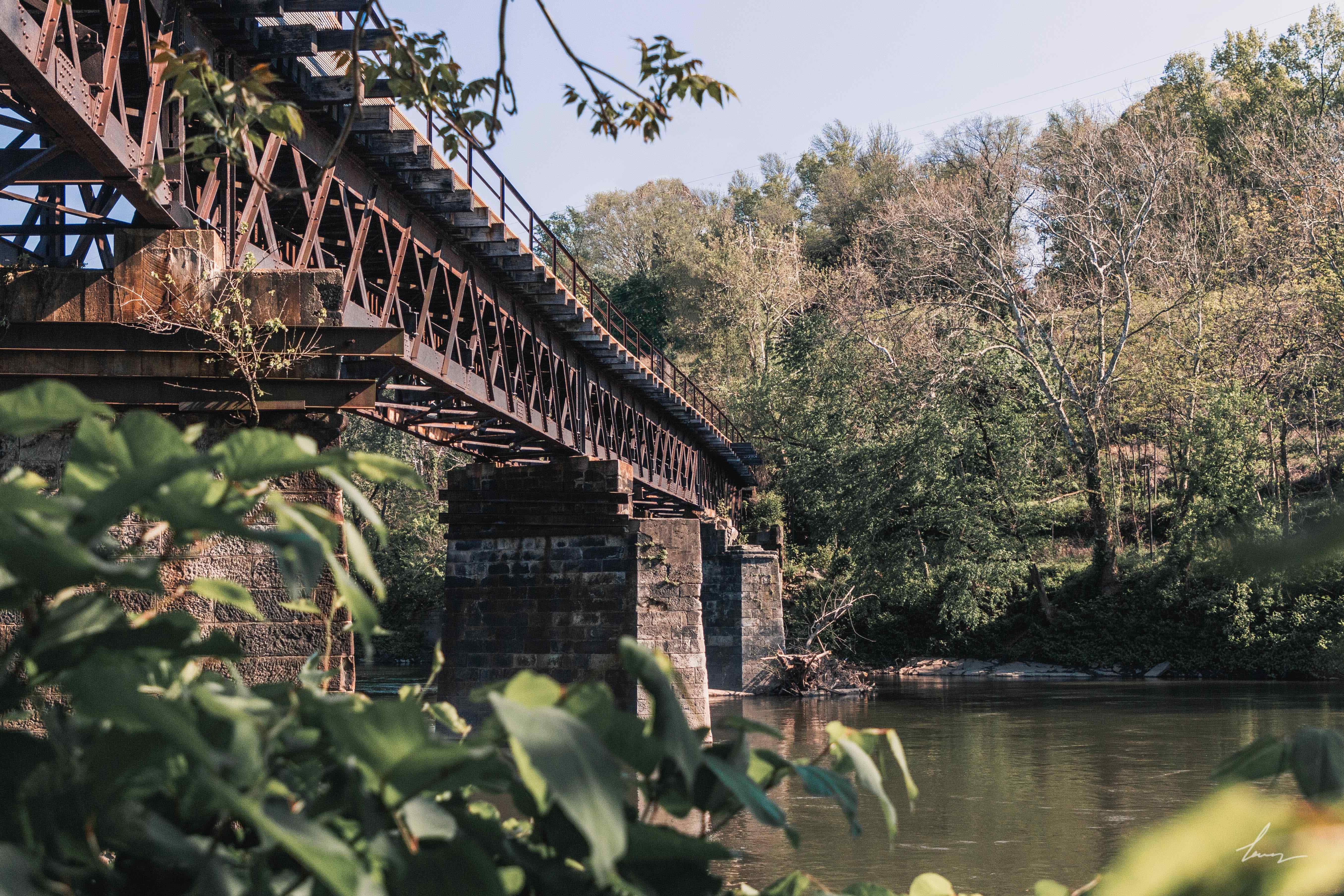 Rail Road Bridge - Manayunk, Pennsylvania