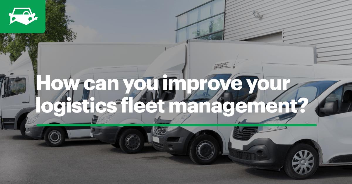 Logistics fleet management blog visual
