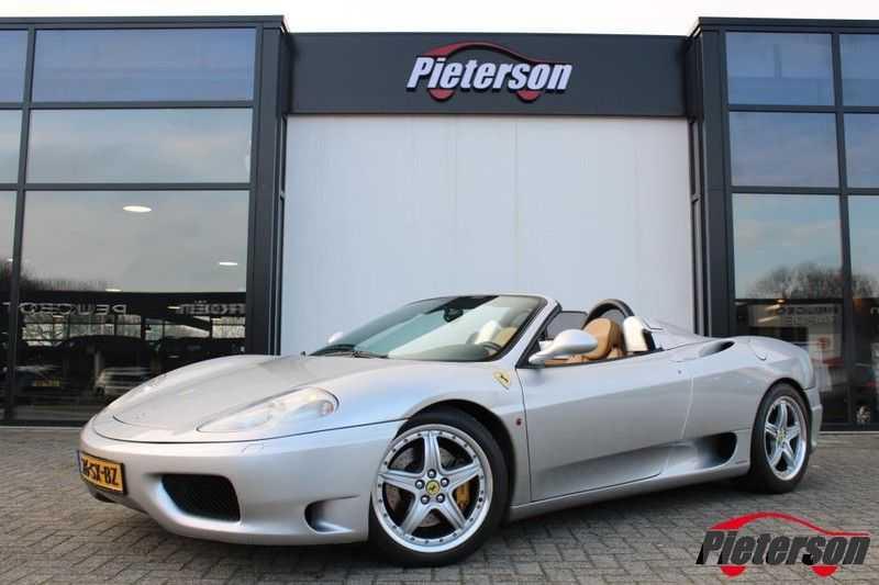 Ferrari 360 3.6 V8 Spider F1 Automaat Leder *Nette staat* afbeelding 7