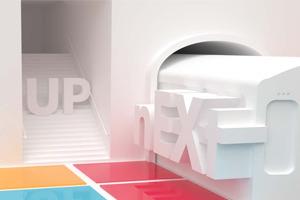 nEXt-UP Brand & Poster