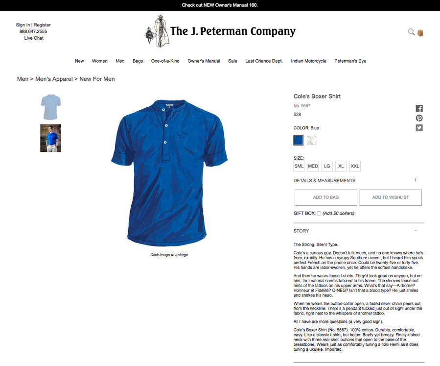 J. Peterman Company