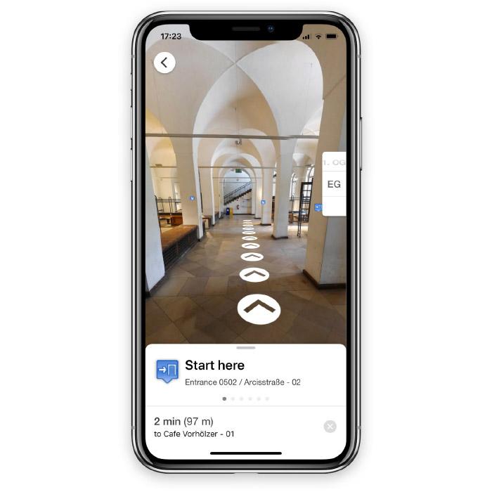 Application mobile de localisation
