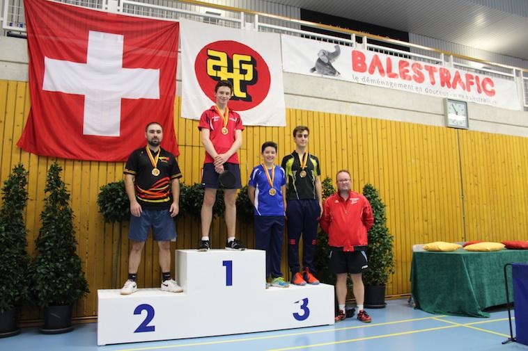 Eitan Joanes, médaille de bronze série E