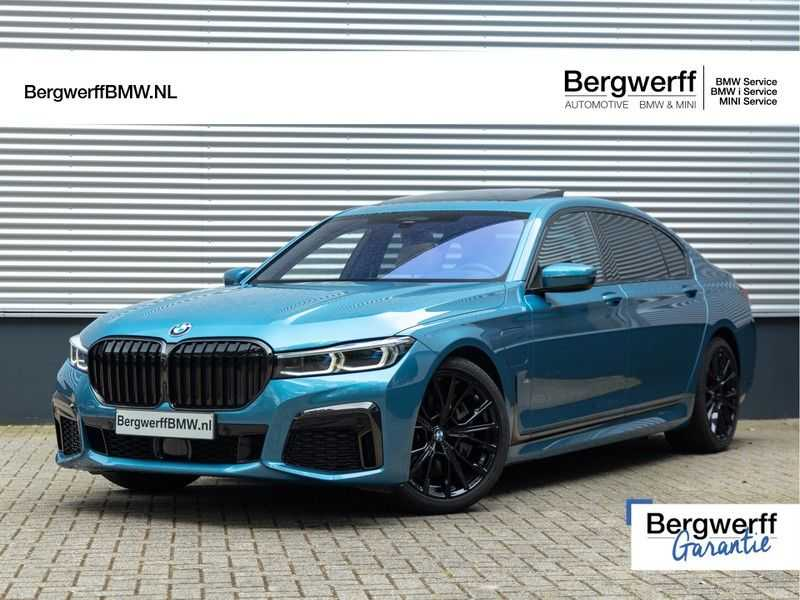 BMW 7 Serie 745Le xDrive Individual ''Maldives Blue'' - Full Option afbeelding 1