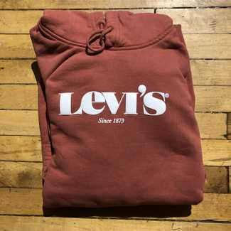 Levis Relaxed Graphic Hoody