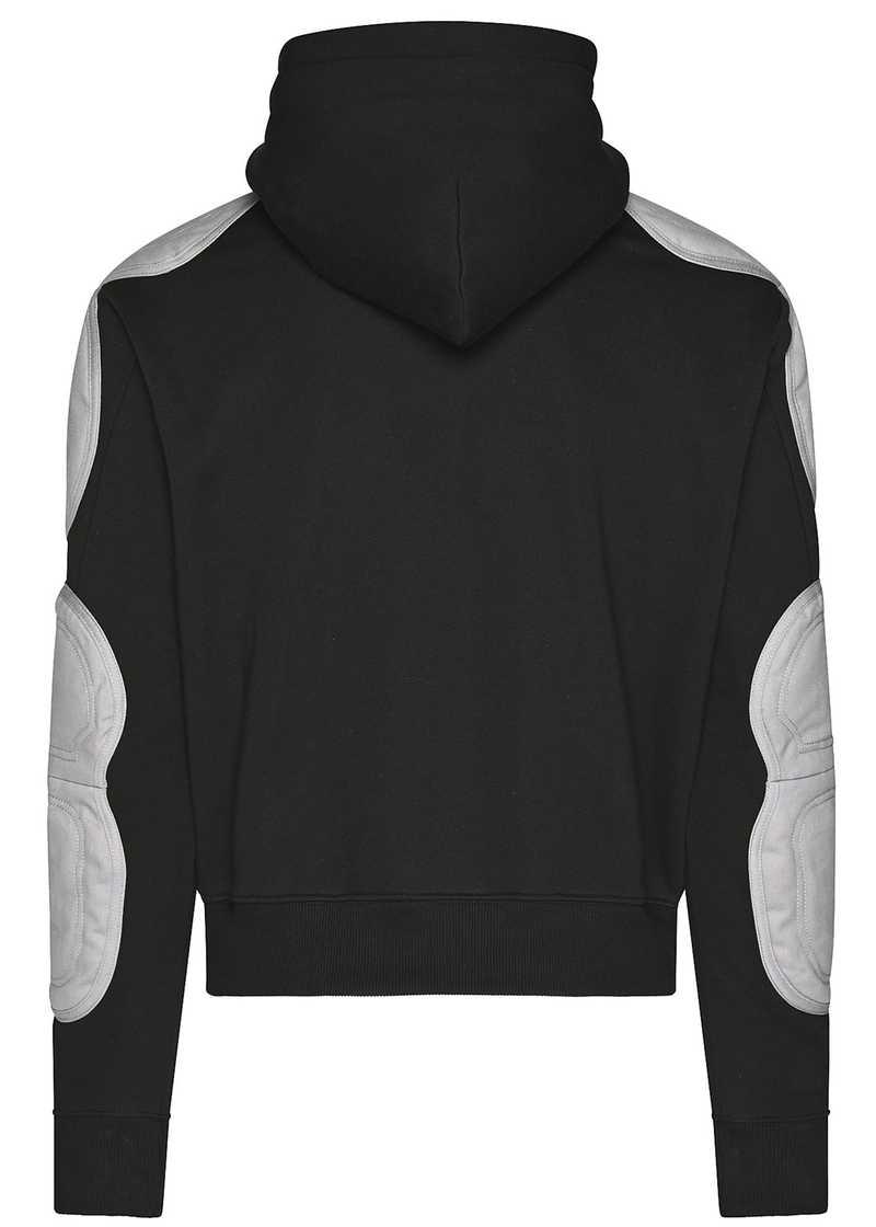FARUK hoodie black/grey. GmbH Spring/Summer 2021 'RITUALS OF RESISTANCE'