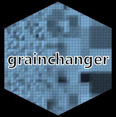 Image: hex sticker for grainchanger package