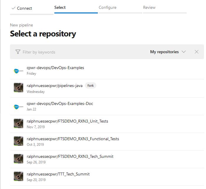 Azure Devops GitHub Repos