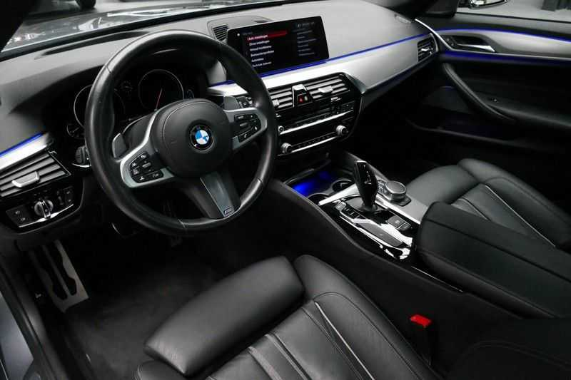 BMW 5 Serie Touring 520d High Executive M-sport afbeelding 14