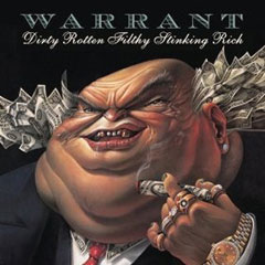 Warrent Dirty Rotten Filthy Stinking Rich album cover