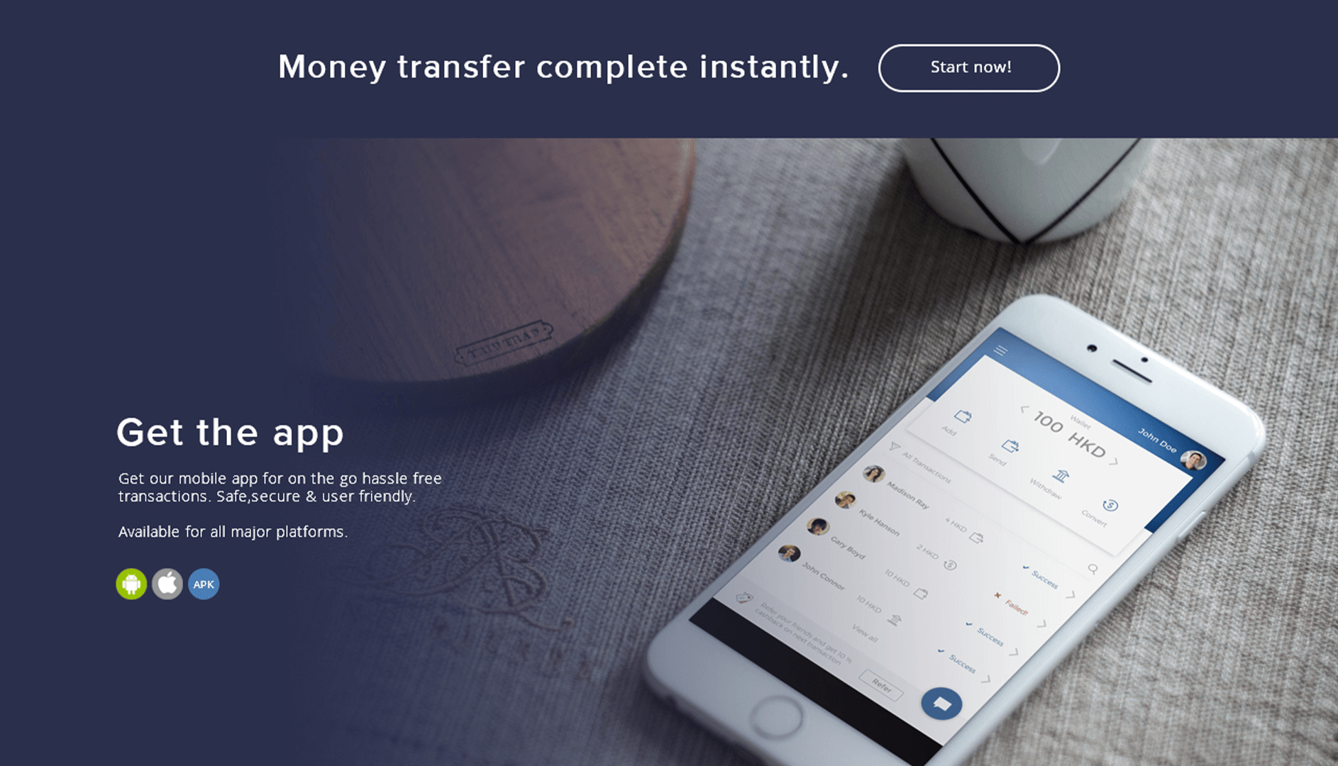 Smart Transfer Screen