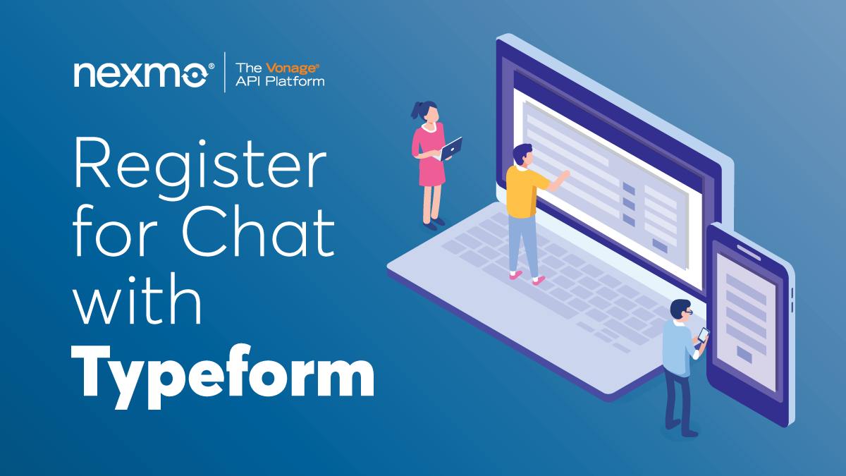 Register to Chat with Typeform