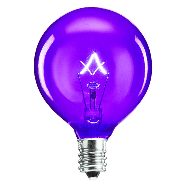 25 Watt Light Bulb - Purple