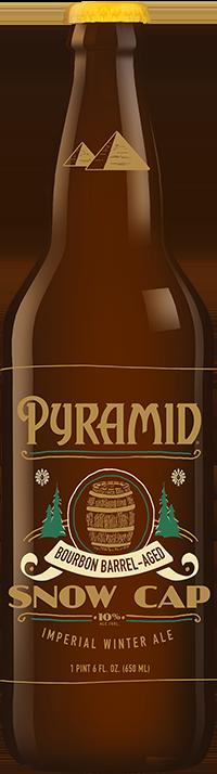 Bourbon Barrel‑Aged SnowCap bottle