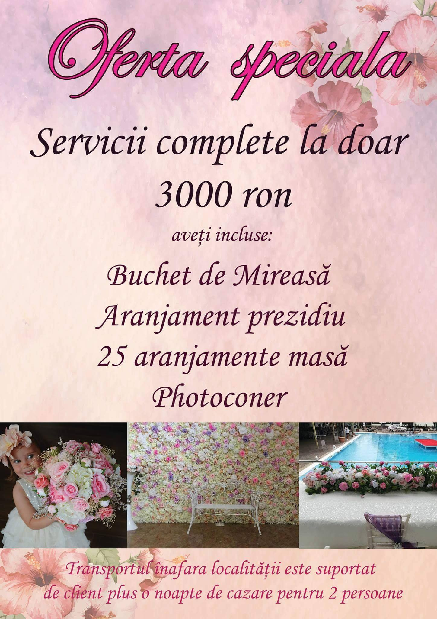 Oferta speciala Mini Flowers