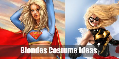 10 Neat & Imaginative Costume Ideas for Blondes