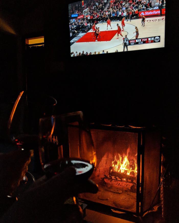Manzanita Coast Fireplace