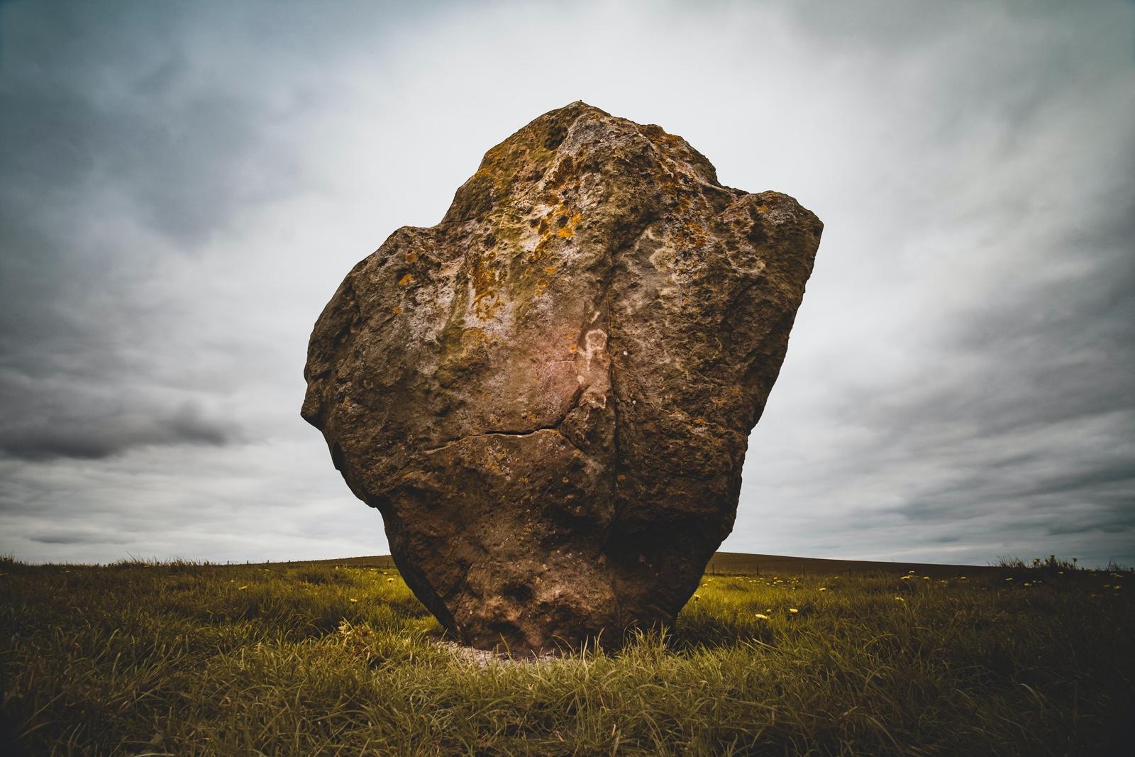 Large durable rock