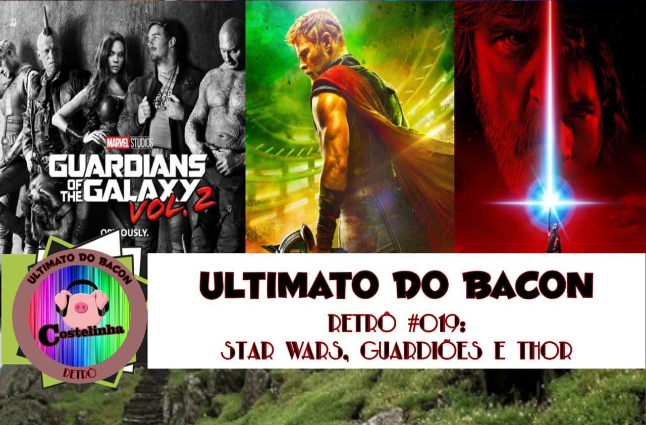 Posteres de Thor: Ragnarok, Guardiões da Galaxia vol.2 e Star Wars: Os Últimos Jedi