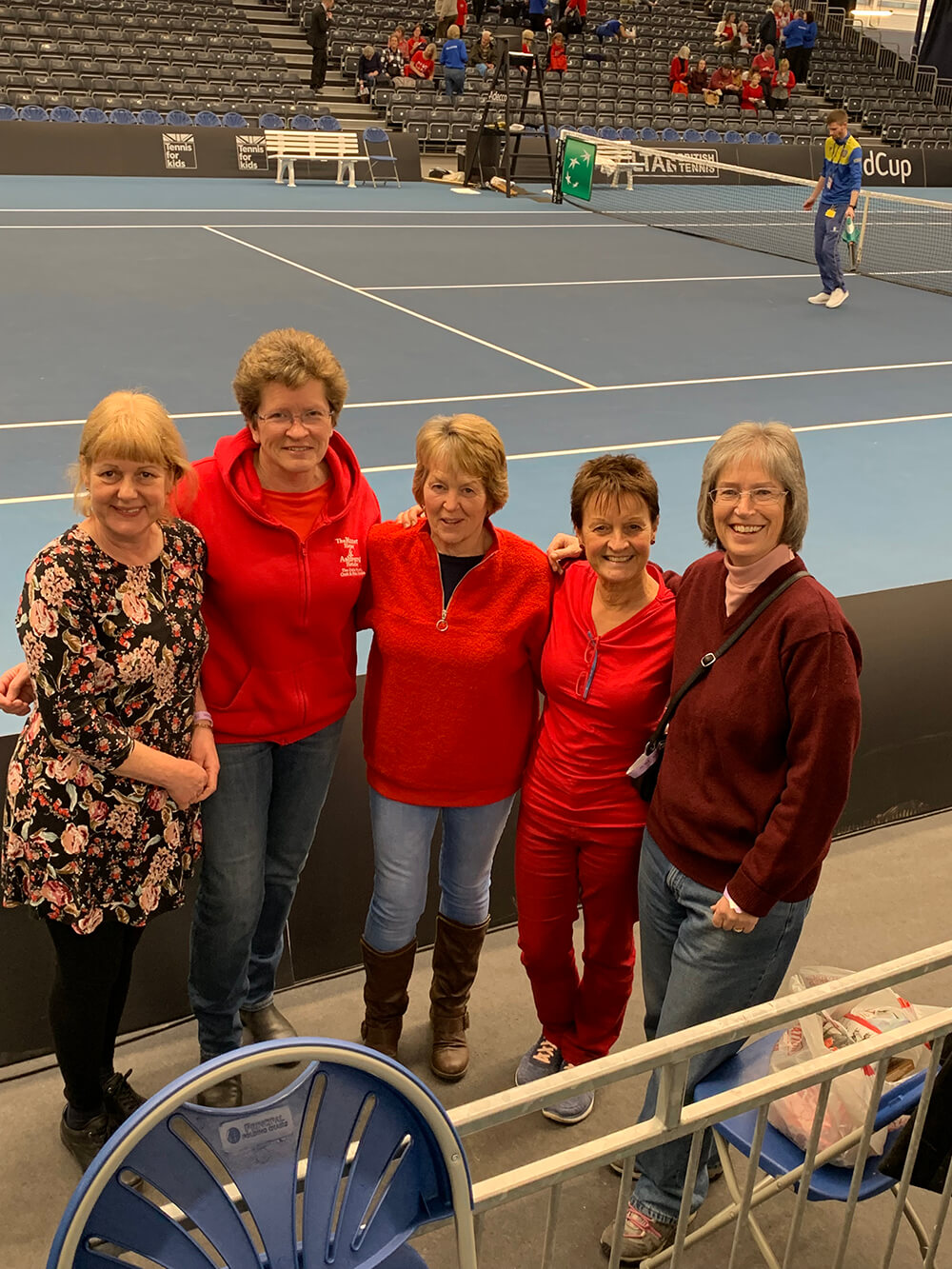 Trip to the Fed Cup