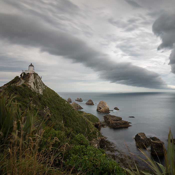 Nugget Point Light House, Otago, New Zealand