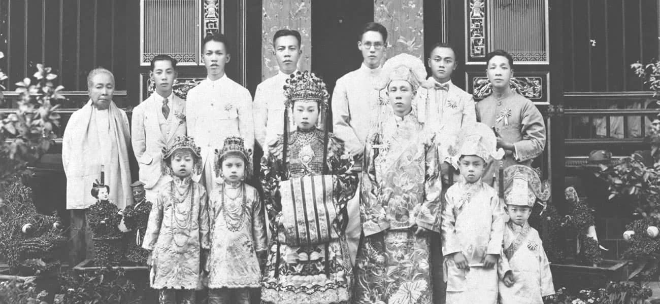 Peranakan wedding, 1925
