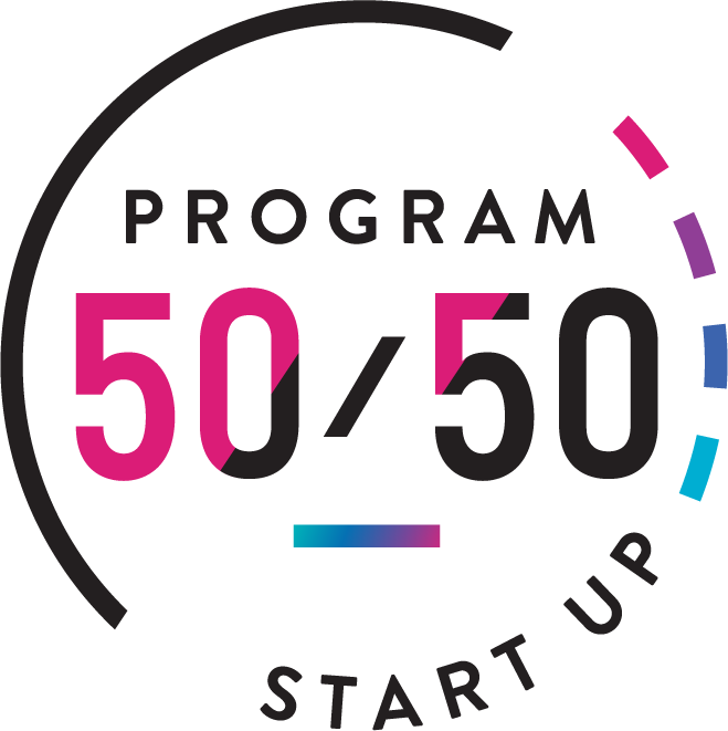 50/50 Startup logo